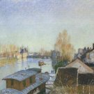 Banks of the Loing near Moret, 1890 - A3 Poster