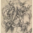 Temptation of St.Anthony (1470-1490) - 24x18 IN Poster