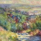 The Hills of Trouville, 1885 - 24x18 IN Poster