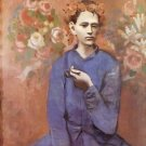 Boy with a Pipe [1905] - Poster (24x32IN)