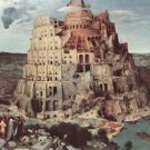 Tower of Babel [3] by Pieter Bruegel - 24x32 IN Canvas