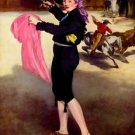 Mlle. Victorine in the Costume of a Matador by Manet - A3 Poster