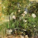 A Corner of the Rose Garden - 1885 - 24x18 IN Canvas