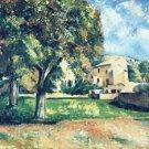 Chestnut Trees and Farmstead of Jas de Bouffan, 1885 - Poster (24x32IN)