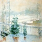 Balcony in Winter, 1901-02 - A3 Poster