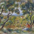 The Vineyards of Cagnes, 1908 - 24x32 IN Canvas