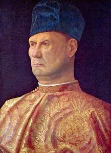 Portrait of a Condotti by Bellini - 24x18 IN Canvas