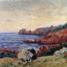 The Red Rocks at Agay, 1915 - 24x18 IN Canvas