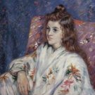 Portrait of Madeleine Guillaumin, 1901 02 - 24x18 IN Canvas