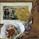 Still Life with Bouquet, 1871 - 24x18 IN Canvas