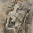 Pablo Picasso - Girl with a Mandolin - 24x18 IN Canvas