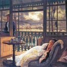 A storm moves over by Tissot - 24x18 IN Canvas