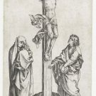 The Crucifixion 3. 1470-1490 - 30x40 IN Canvas