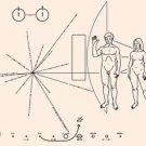 Vinteja charts of - Pioneer Plaque - A3 Paper Print
