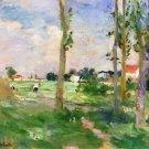 Landscape of La Creuse - 1882 - 24x32 IN Canvas