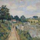 Landscape of Ile-de-France, 1885 - 24x32 IN Canvas