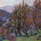 Landscape of the Creuse, 1908 - 24x32 IN Canvas