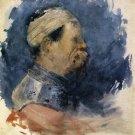 Portrait of a Man, 1879 - A3 Poster
