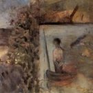 Landscape with sinners Puvis de Chava 1881 - 24x32 IN Canvas
