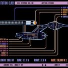 Vinteja charts of - LCARS UFP Constitution Class Starship A - A3 Paper Print