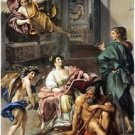 Allegory of History by Raphael - 24x18 IN Canvas