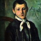 Portrait of Lois Guillaime by Cezanne - 24x18 IN Canvas