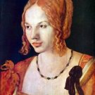 Portrait of a Venetian by Durer - 24x18 IN Canvas