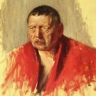 Bruno Liljefors - Portrait of Zorn - 24x18 IN Canvas