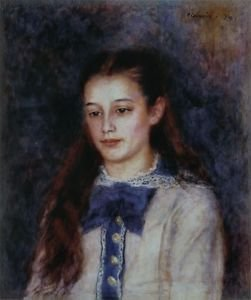 Portrait of Therese Berard, 1879 - 24x18 IN Canvas