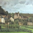 View of the Hermitage at Pontoise, 1867 - 24x18 IN Canvas