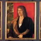 Portrait of Oswald Krell by Durer - 24x18 IN Canvas
