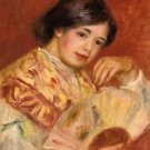 Woman with a Fan, 1906 - 24x32 IN Canvas