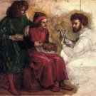 Giotto Painting the Portrait of Dante, ca1859 - Poster (24x32IN)