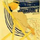 The traveller 2 by Toulouse-Lautrec - 24x18 IN Poster