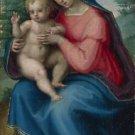 Giovanni Antonio Sogliani - The Madonna and Child - 30x40IN Canvas Painting