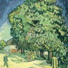 Blossoming chestnut tree by Van Gogh - A3 Paper Print