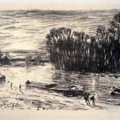 Banks of the Loing at Saint-Mammes, 1896 - Poster (24x32IN)