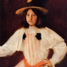 The Red Sash, 1895 - A3 Poster