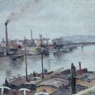 The Port of Rouen, 1883 02 - Poster (24x32IN)