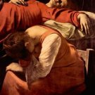 Mary's death detail by Caravaggio - 24x18 IN Poster