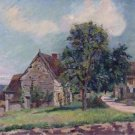 The Village of Damiette, 1885 - 24x18 IN Poster