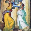 Head of John Baptist by Michelangelo - 24x18 IN Canvas