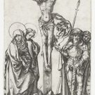 The Crucifixion 2. 1470-1490 - 24x32 IN Canvas