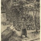 Woman Emptying a Wheelbarrow, 1880 - 24x32 IN Canvas
