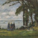Landscape with Three Women, 1890 - A3 Poster