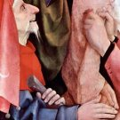 The cross for Christ, detail [3] by Bosch - 24x18 IN Canvas