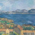 The Gulf of Marseille Seen from L'Estaque, 1886 - 30x40 IN Canvas