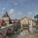 The Bridge of Moret, 1893 - A3 Poster
