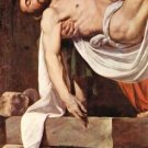 Christ's burial detail 2 by Caravaggio - 30x40 IN Canvas