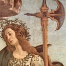 Minerva and the Centaur Detail by Botticelli - A3 Paper Print